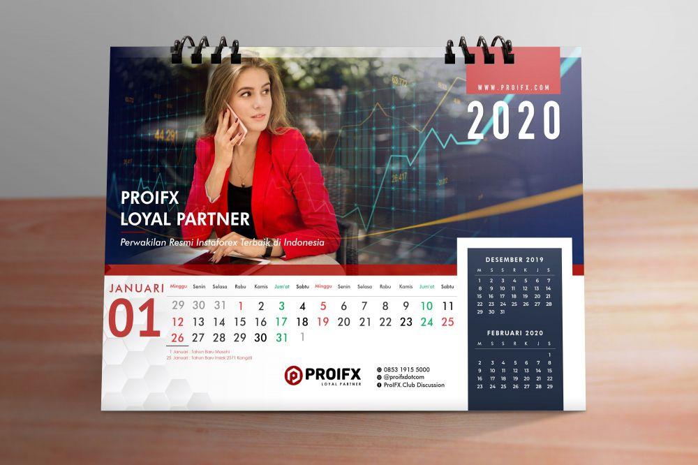 ProIfx Calendar Mockup