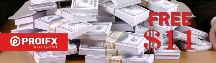 ProIfx Free 10 Deposit Bonus